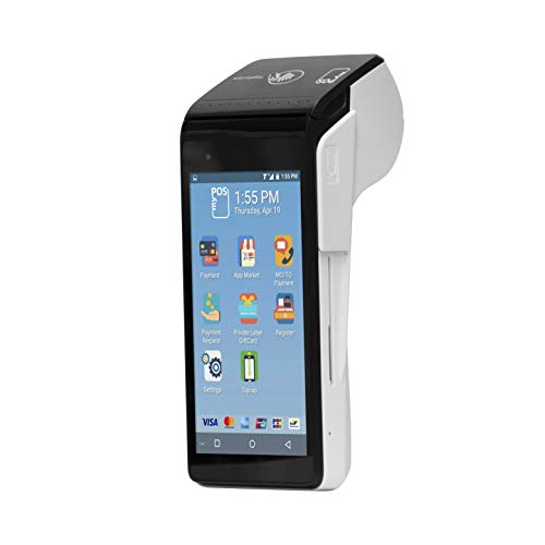 Terminale POS myPOS Smart N5 (White) Android per tutti i tipi di schede, lettore di schede senza contatto touchscreen...