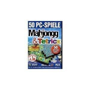 50 PC-Spiele Mahjongg und Tetricx