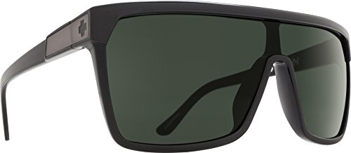 Spy Optic Flynn Shiny Black/Matte Black/Happy Gray/Green One Size