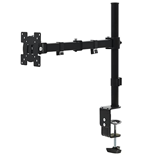 HUANGFINPI Color: Negro Soporte Monitor o TV de 32' para Montar en Mesa de Escritorio