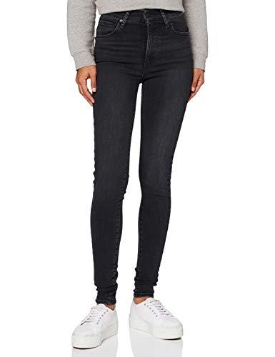 Levi's Damen Mile High Super Skinny Jeans, Black Haze, 28W / 28L