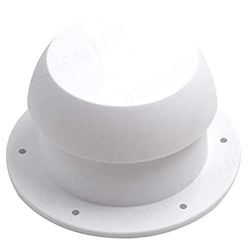LNIEGE Dachlüftungs Cap Pilz-Kopf-Form Wohnmobil Runde ABGASAUSLASS universeller Ersatz für Camper Trailer Wohnmobil