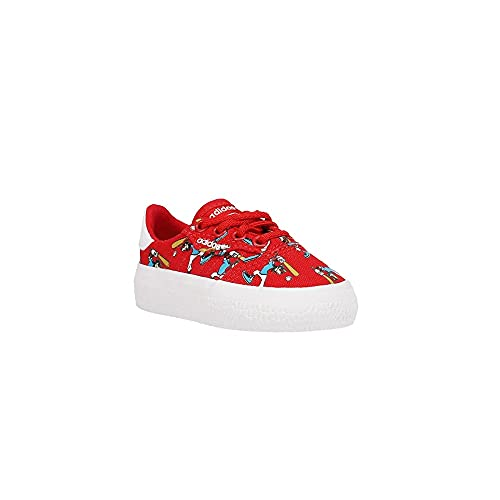 adidas Toddler Boys 3Mc X Disney Sport Goofy Platform - Sneakers Shoes Casual - Red - Size 6 M