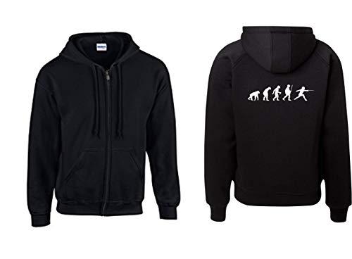 Textilhandel Hering Jacke - Fecht Evolution (Schwarz, L)