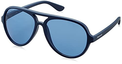 Fastrack Men's Pilot Sunglasses with Blue Frame and Blue Lens (Lens Width: 61mm, Bridge Width: 23 mm, Temple length: 135mm)