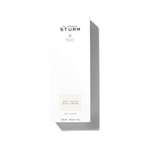 Dr. Barbara Sturm Anti-Aging Body Cream - Silky, Lightweight Body Lotion with White Almond + Elderberry Blossom for Long-Lasting Hydration (200ml)