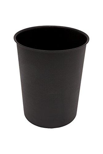 Kenney Storage Made Simple Plastic Waste Basket Black