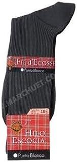 Hilo Escocia Canalé Calcetines cortos para Hombre