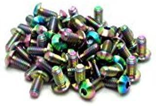 M6 x 10mm x 1.2mm 2x Titanium Washer GR5 Rainbow RacePro