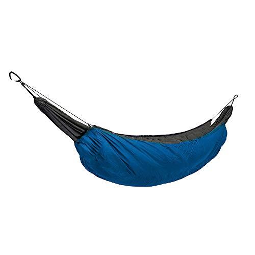 LSX en Plein air Camping Chaud Couverture Windproof Chaud Loisir Unique hamac Hommes hamac Chaud Couverture Windproof Chaud Coton hamac-(Bleu Ciel)