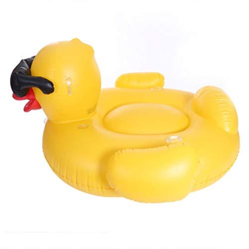 softneco Riesenente Luftmatratze Pool Für Kinder,Sommer Pool Party Dekorative Schwimmende Spielzeug,Aufblasbare Liege Floß Zu Swim Pool Lake Ente Handinflator