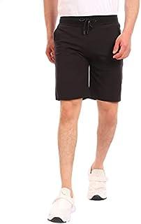 Andora Side Pocket Elastic Waist Cotton Shorts for Men