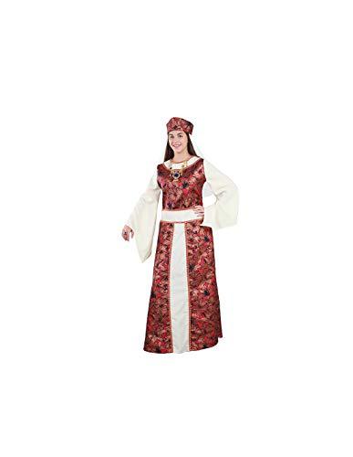 DISBACANAL Disfraz de Reina Medieval Mujer - -, XL