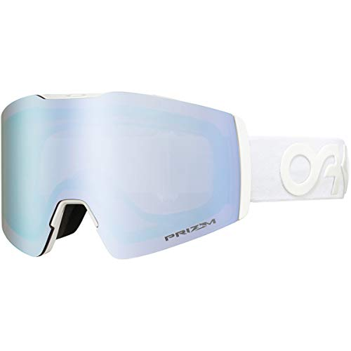 Oakley Unisex-Adult Fall Line XM Sunglasses, Mehrfarbig (factory pilot whiteout/prizm snow sapphire iridium), M