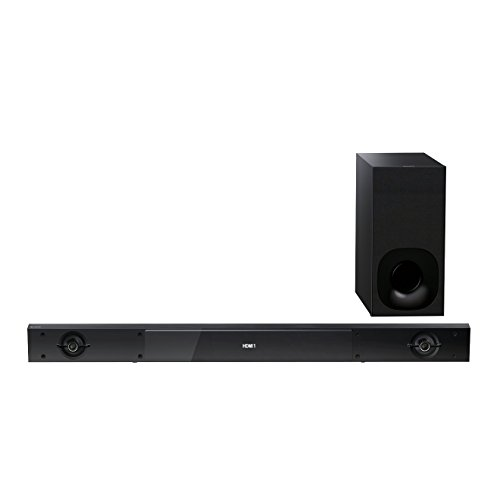 Sony HT-NT3 2.1 Multi-room Soundbar (400 Watt, High-Resolution, NFC, Bluetooth, USB, Home Theater) schwarz