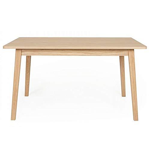 Transparent 80x120x75 cm KoKoon Tony Table /à Diner Design en Verre
