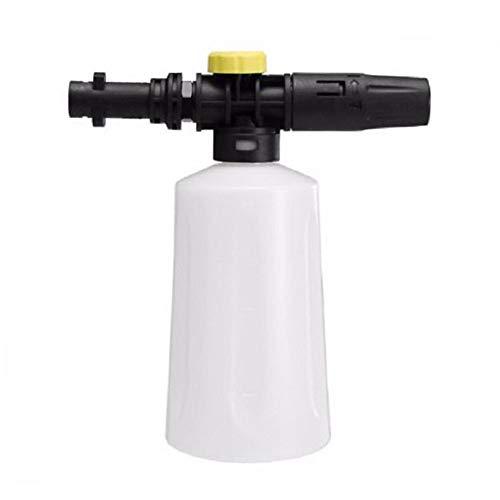 Duoying - Botella de espuma para lavado de coche, 750 ml, ajustable, para pistola de espuma de nieve