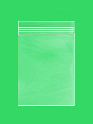 """Clear Plastic Reusable ZIPLOCK Bags - Bulk GPI Pack of 200 3"""" x 4"""" 2 mil Thick Strong & Durable Poly Baggies with Resealable Zip Top Lock for Travel, Storage, Packaging & Shipping."""