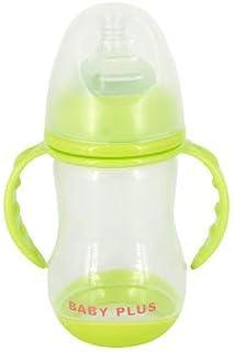 كوب سيبي للاطفال من بيبي بلس BP6641، 250 مل، اخضر