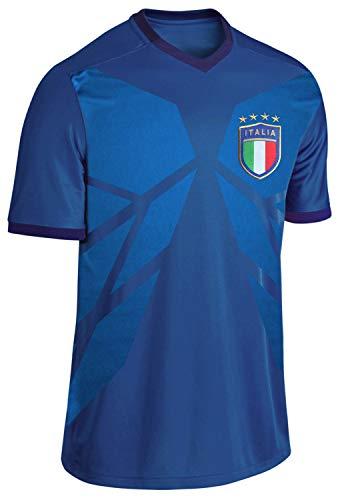 Blackshirt Company Italien Trikot Fußball WM EM Fan Trikot Blau Größe L