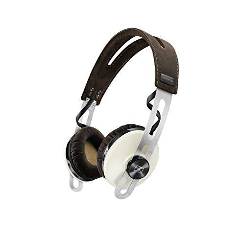 Sennheiser Momentum 2.0 Wireless ON-Ear - Auriculares de Diadema Cerrados inalámbricos (BT APTX/NFC, cancelación de Ruido), Color Marfil