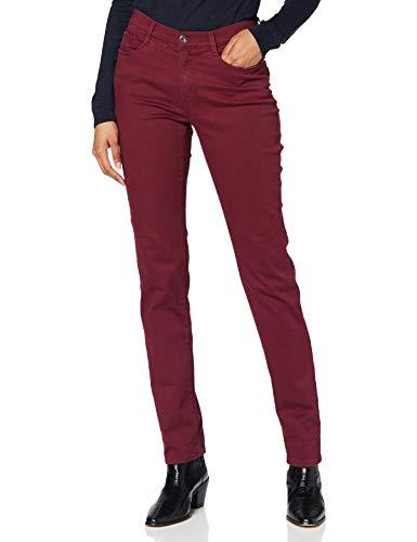 BRAX Damen Style Mary Simply Brilliant Colors Five Pocket Slim Fit Sportiv Jeans, Cranberry 95, 29W / 32L (Herstellergröße: 38)
