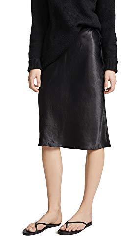 Vince Women's Slip Skirt, Black, X-Small