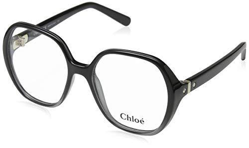 CHLOÉ CE2704 brilmontuur CE2704 Chloe rechthoekig brilmontuur 53, zwart