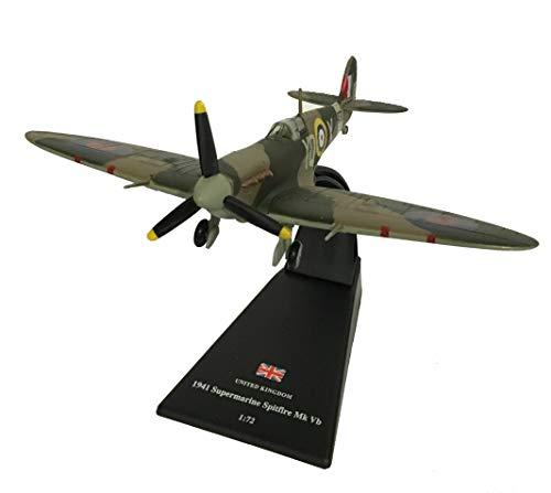 Spitfire Mk Vb diecast 1:72 model (Amercom SL-3