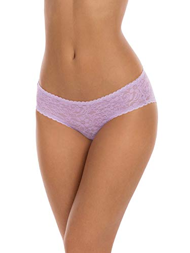 Lavender Combo 3 Pack All Over Lace Hipster Panties - 2XL