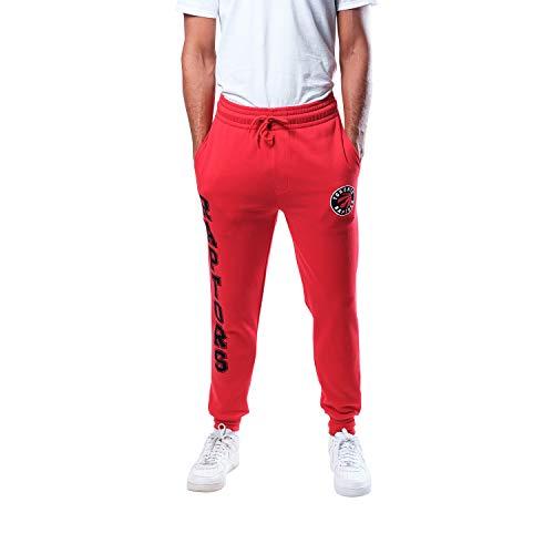 Ultra Game Herren Team Jogger Pants, Herren, Herren Active Basic Soft Terry Sweatpants, Men's Active Basic Soft Terry Sweatpant, Teamfarbe, Large