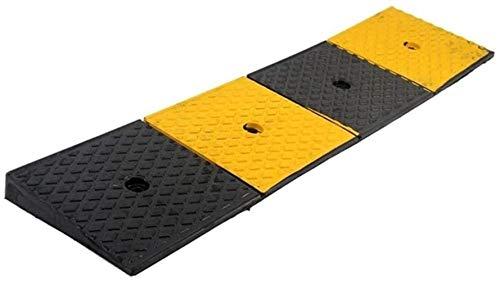 Ybzx Rubber Curb Ramps, Thicken Rubber Slope Pad Regenveilige zonnecrème voertuiggrampen gedeactiveerd rolstoelhellingen Hoogte: 5CM (grootte: 100 * 15 * 5CM)