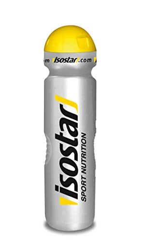 Isostar Iso Trinkflasche silver 1000 ml, 1er Pack (1 x 98 g)