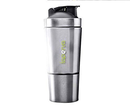 Laperva Sports Nutrition Stainless steel Protein shaker 100% LEAK PROOF drinks protein shaker 700ml