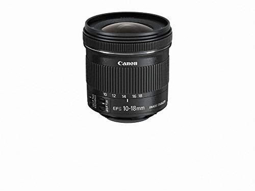 Canon EF-S 10–18mm F/4,5–5,6IS STM Zoom Gran Angular/estabilizador de Imagen Kit de Lentes para Canon–versión Internacional no (garantía de por Vida)