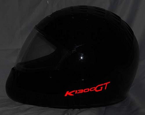 Helmaufkleber Helm Aufkleber reflektierend im Stil Typ2 für BMW K1300GT Farbe...