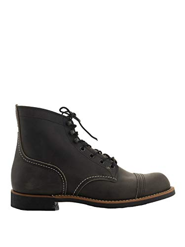 Red Wing Shoes Iron Ranger Ankle Boots, 8.5 Dark Grey