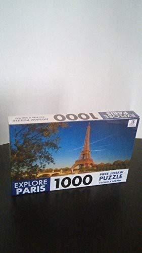 Robert Frederick Explore Paris rechthoekige puzzel, kunststof, gesorteerd, 1000