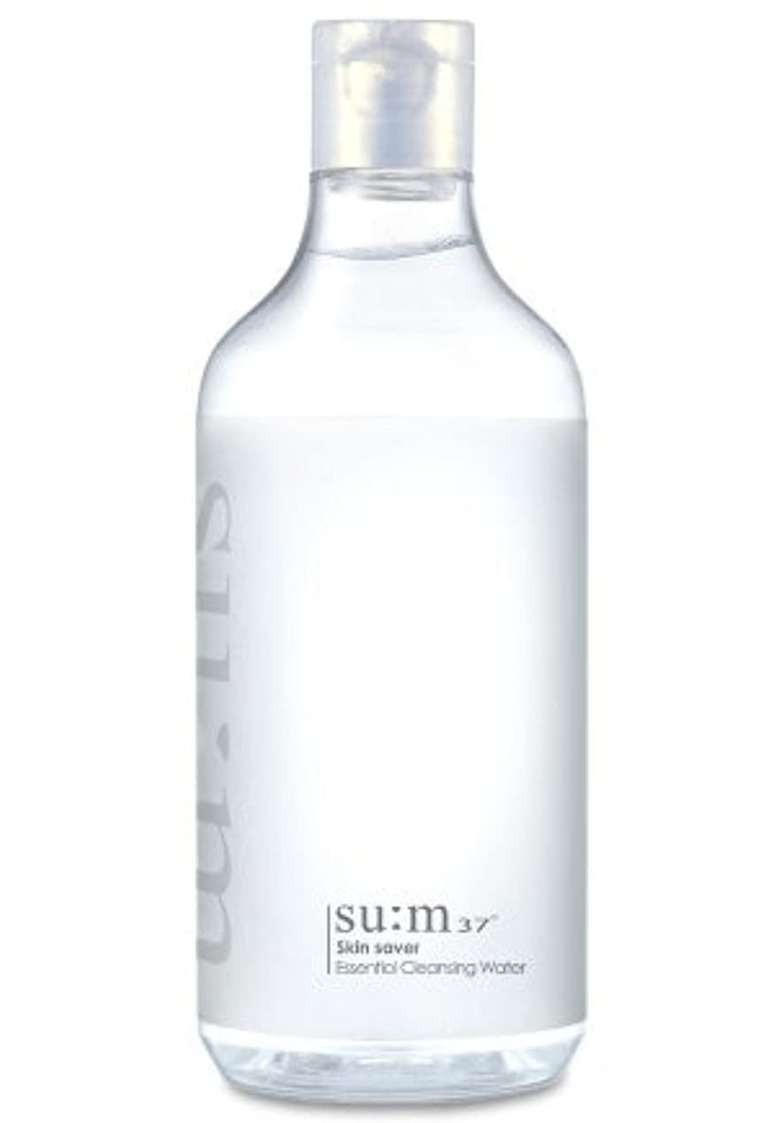 トランジスタマイコン擬人化SUM37/スム37 スキン セーバー エッセンシャルクレンジング honest skin海外直送品 (Skin Saver Essential Cleansing Water 400ml)