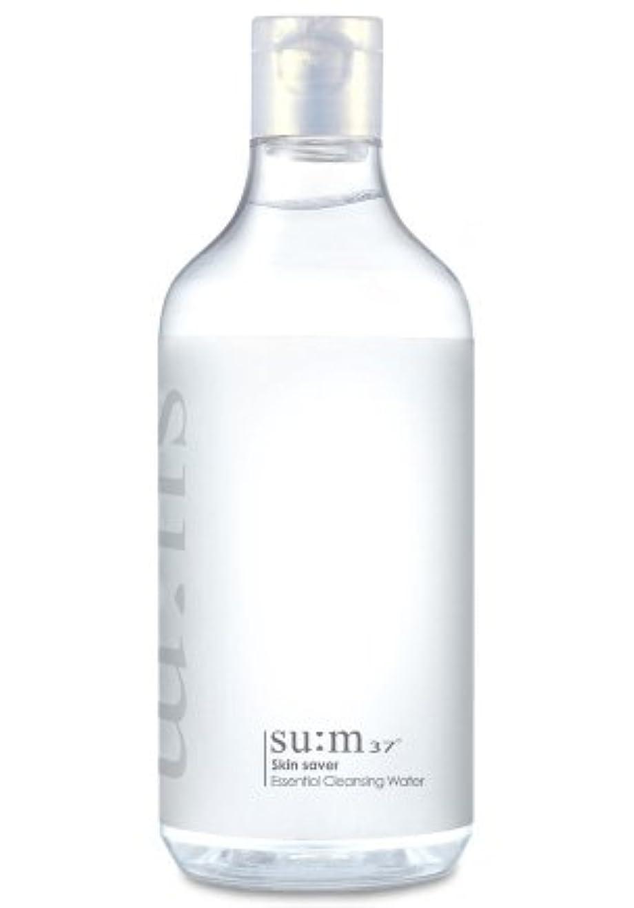 応答バンケット蜜SUM37/スム37 スキン セーバー エッセンシャルクレンジング honest skin海外直送品 (Skin Saver Essential Cleansing Water 400ml)