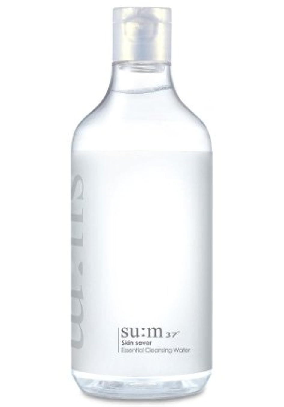 均等にジャケット静かにSUM37/スム37 スキン セーバー エッセンシャルクレンジング honest skin海外直送品 (Skin Saver Essential Cleansing Water 400ml)