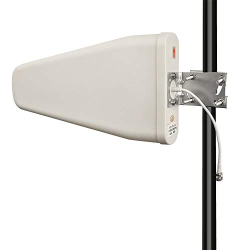 Superbat Cellular Yagi Antenna,Cell Phone/Wi-Fi Antenna - 800-2500Mhz Universal Fixed Mount Antenna - N-Female Connector for WiFi & Cell 3G 4G LTE/MIMO/Mobile Signal Booster