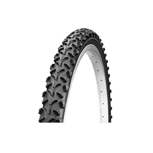 INT Bicicleta 1211563 Cubierta, Negro, 24 x 1,75 – 1,95 N
