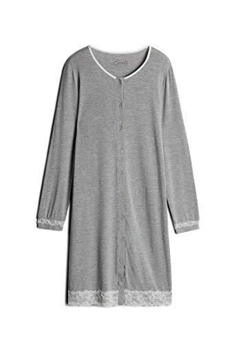 Intimissimi Damen Durchgeknöpftes Nachthemd mit Details aus Spitze