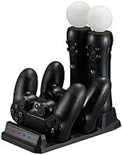 TwiHill A base é adequada para PlayStation 4 gamepad e controlador VR, acessórios PS4 base VR Acessórios PS4 MOVE