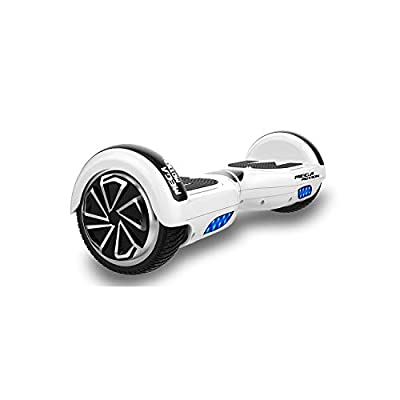 Hoverboard, 6.5 inch Self Balancing Scooter Hoverboard with Bluetooth Speaker Hoverboards for Kids Age 8-12 Segway Colorful Flashed LED Wheel Best gifts for kids Boys Girls Gifts Hoverboard go Kart