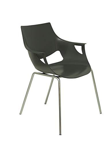 Piqueras y Crespo Pack 3 sillas Torrenueva Sillería, Gris, Estandar