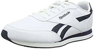 Reebok Royal Cl Jog 2l, Men's Trainers, White (White / Collegiate Navy), 9 UK (B01HCQNQVO) | Amazon price tracker / tracking, Amazon price history charts, Amazon price watches, Amazon price drop alerts