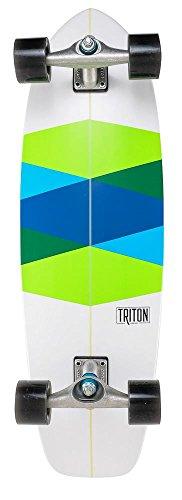 Triton Carver Complet en Verre Vert 82,5 cm Surf Skate Board – CX