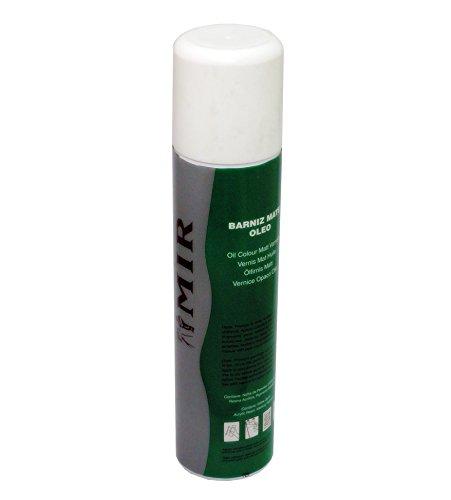 Barniz en spray MIR óleo y acrílico 250ml SATINADO